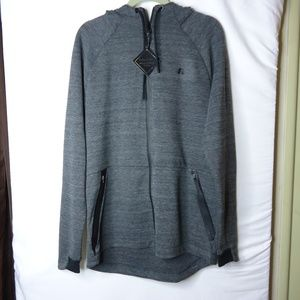 NWT Russell Athletics Gray Zip Front Hoodie